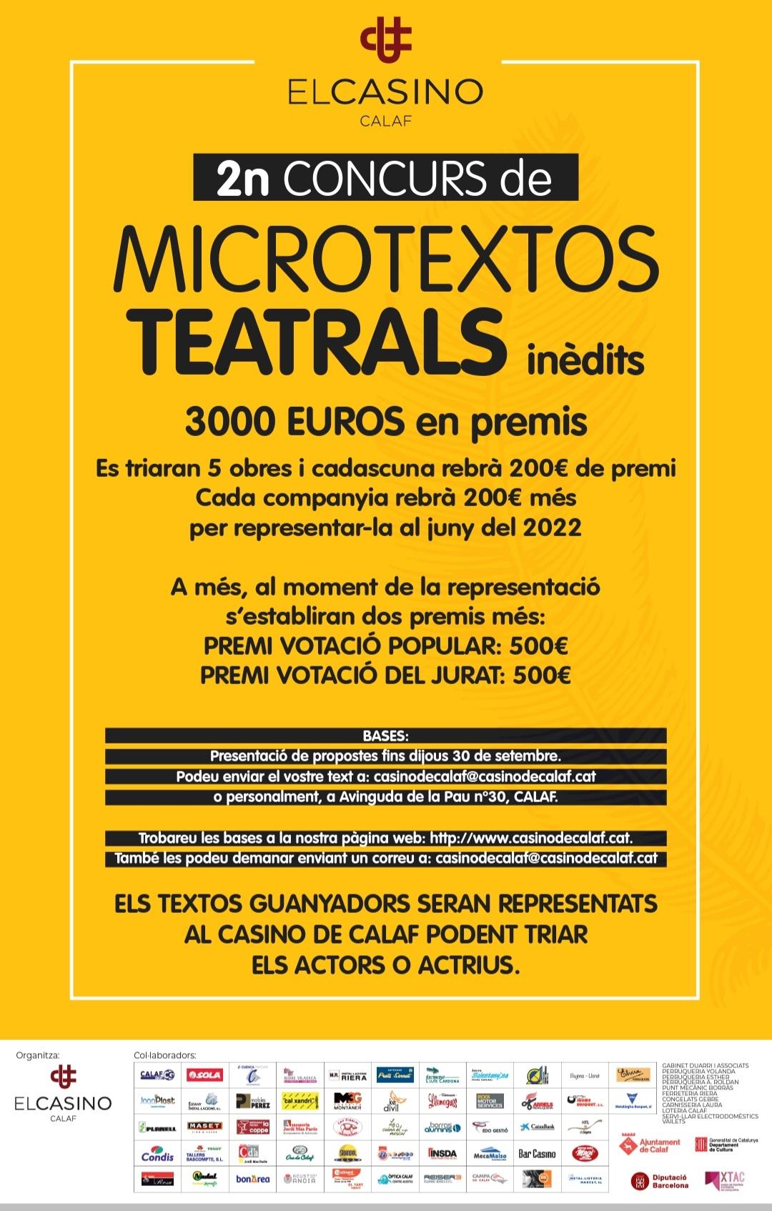 2N MICROTEXTOS TEATRALS